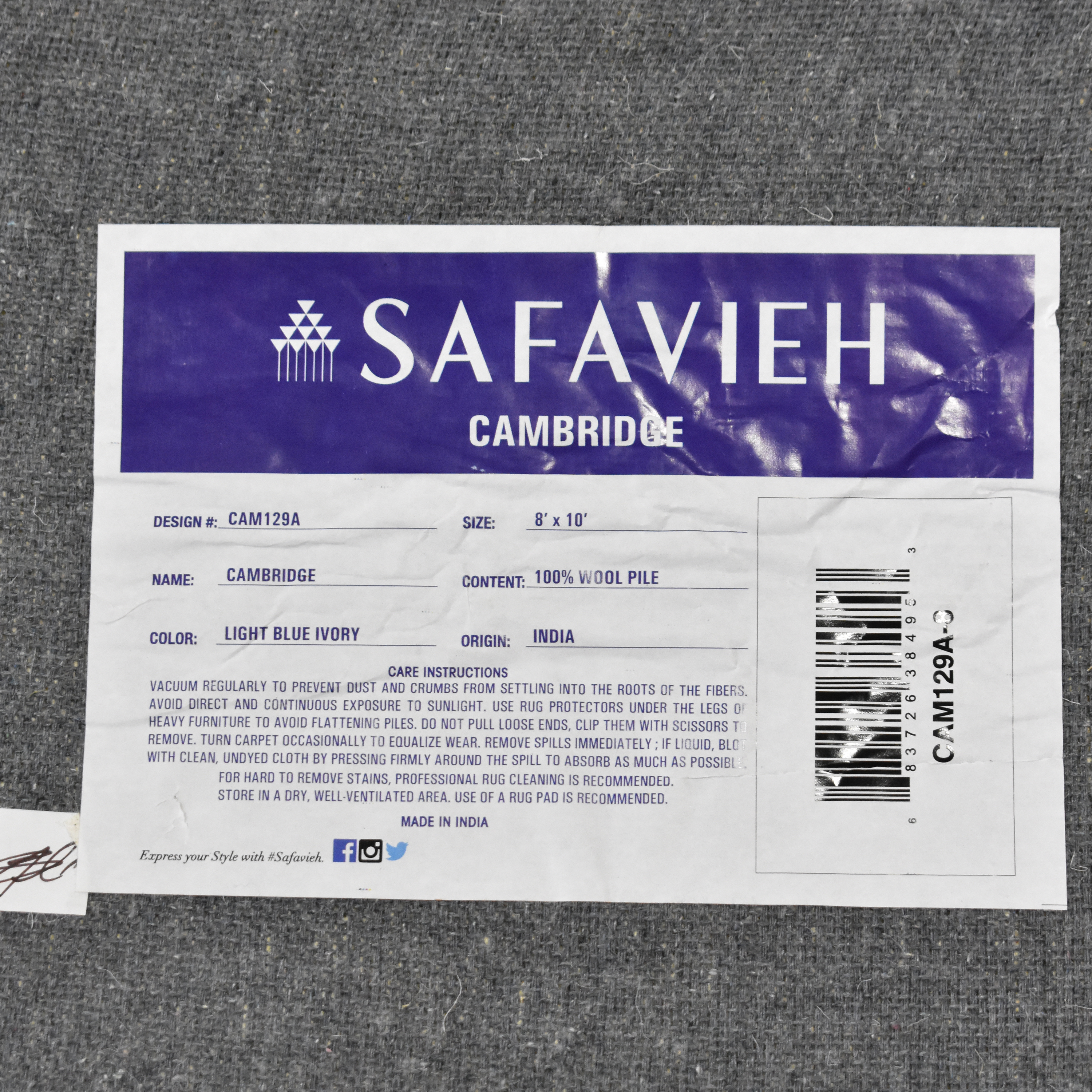 shop Safavieh Cambridge Area Rug Safavieh Decor