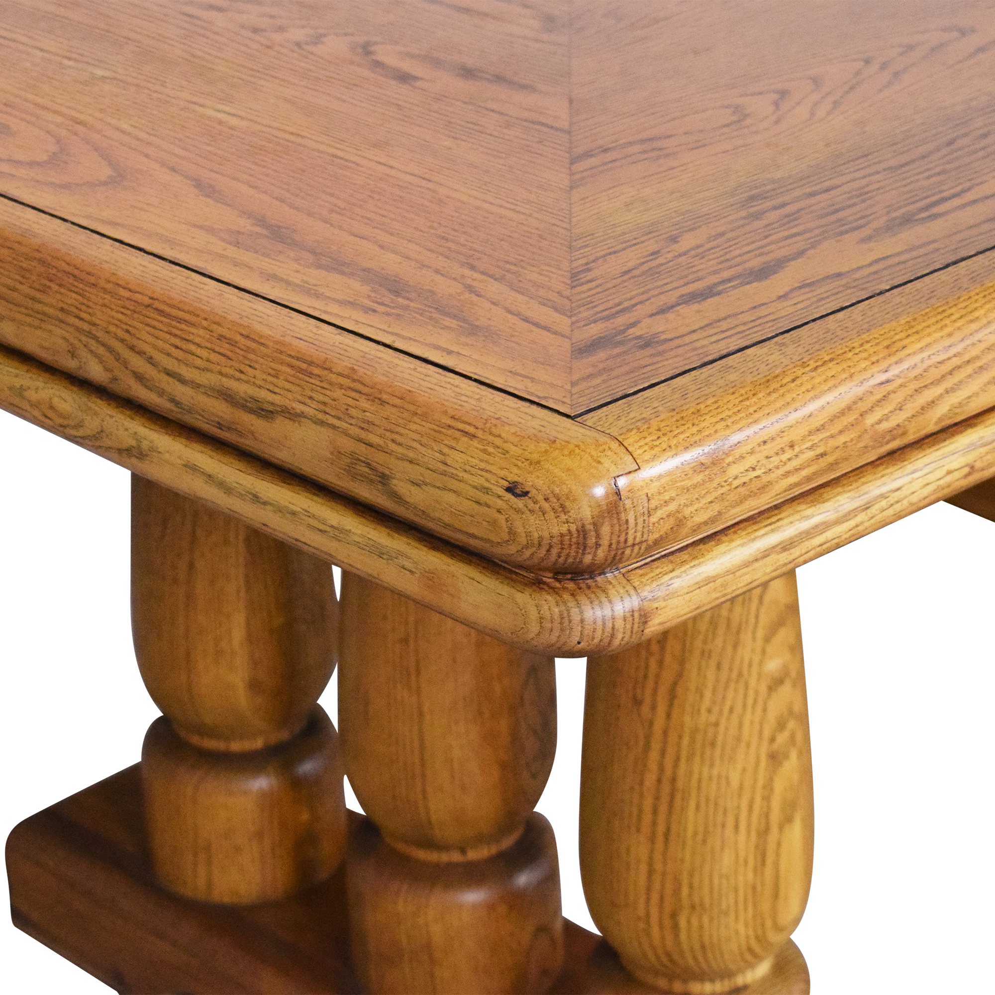 Extendable Two Pedestal Dining Table coupon