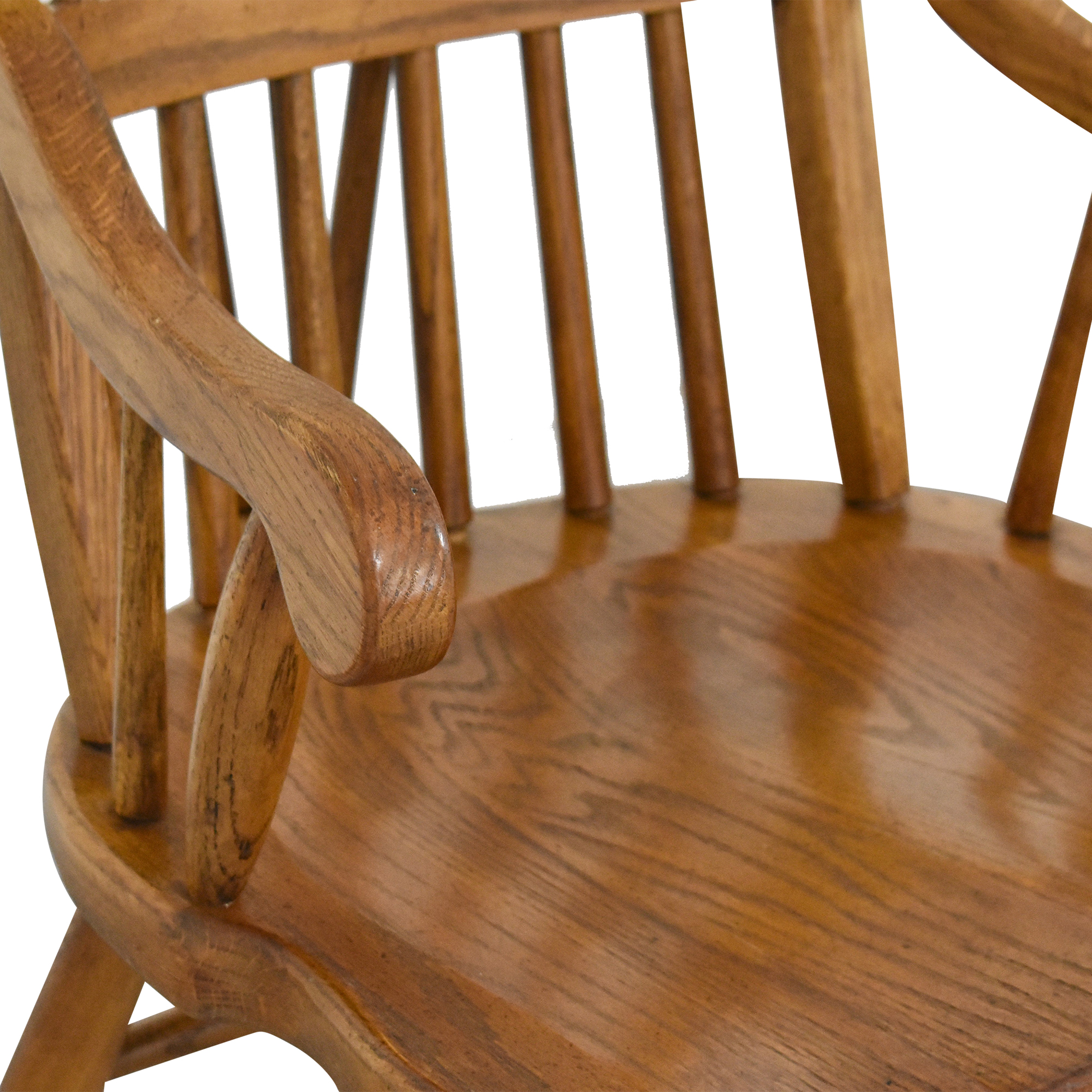 Windsor-Style Dining Chairs brown