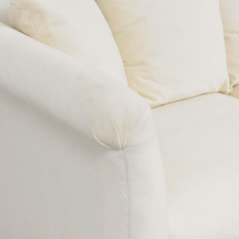 shop Crate & Barrel Crate & Barrel Flared Arm Sofa online
