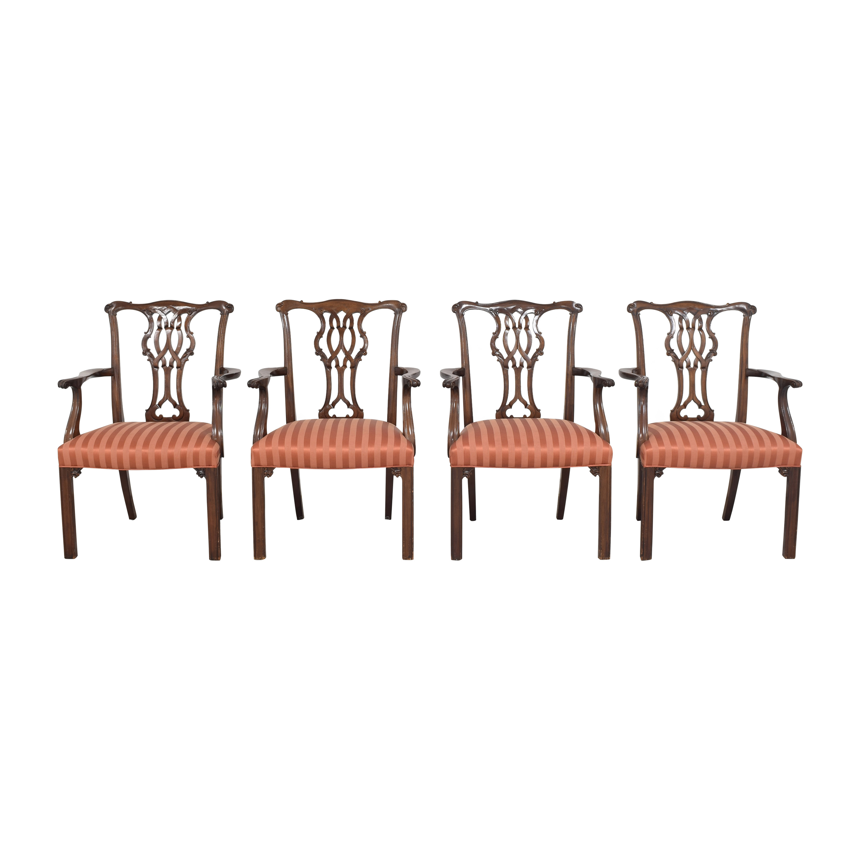 Baker Furniture Baker Furniture Chippendale Dining Chairs price