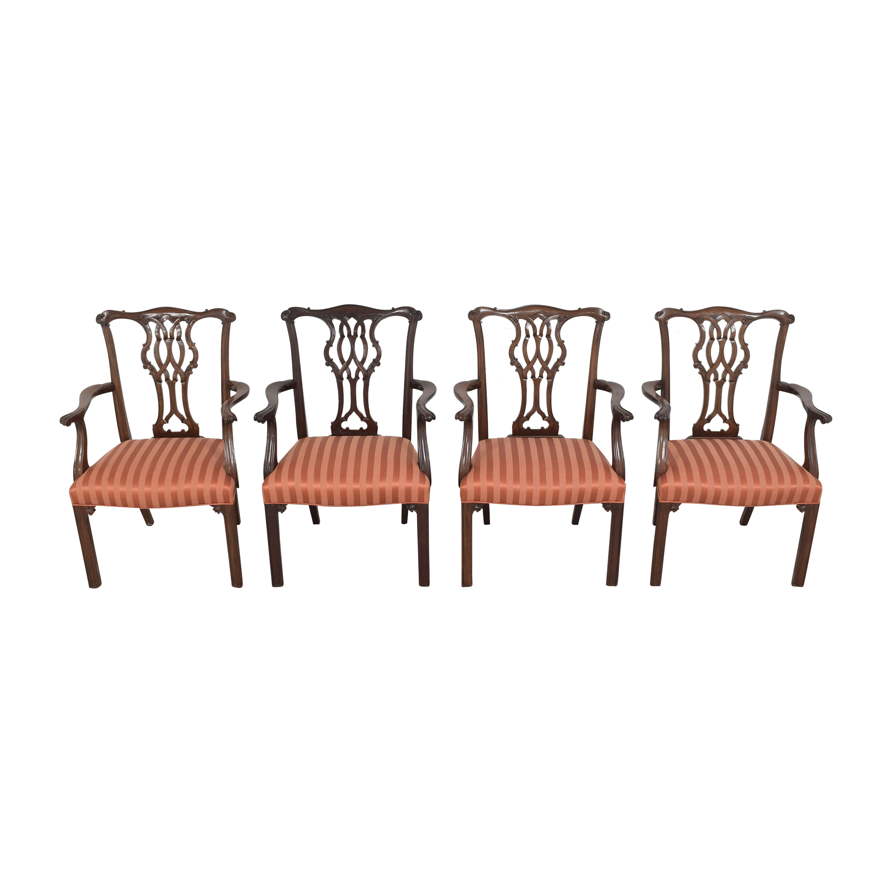 Baker Furniture Chippendale Dining Chairs / Chairs