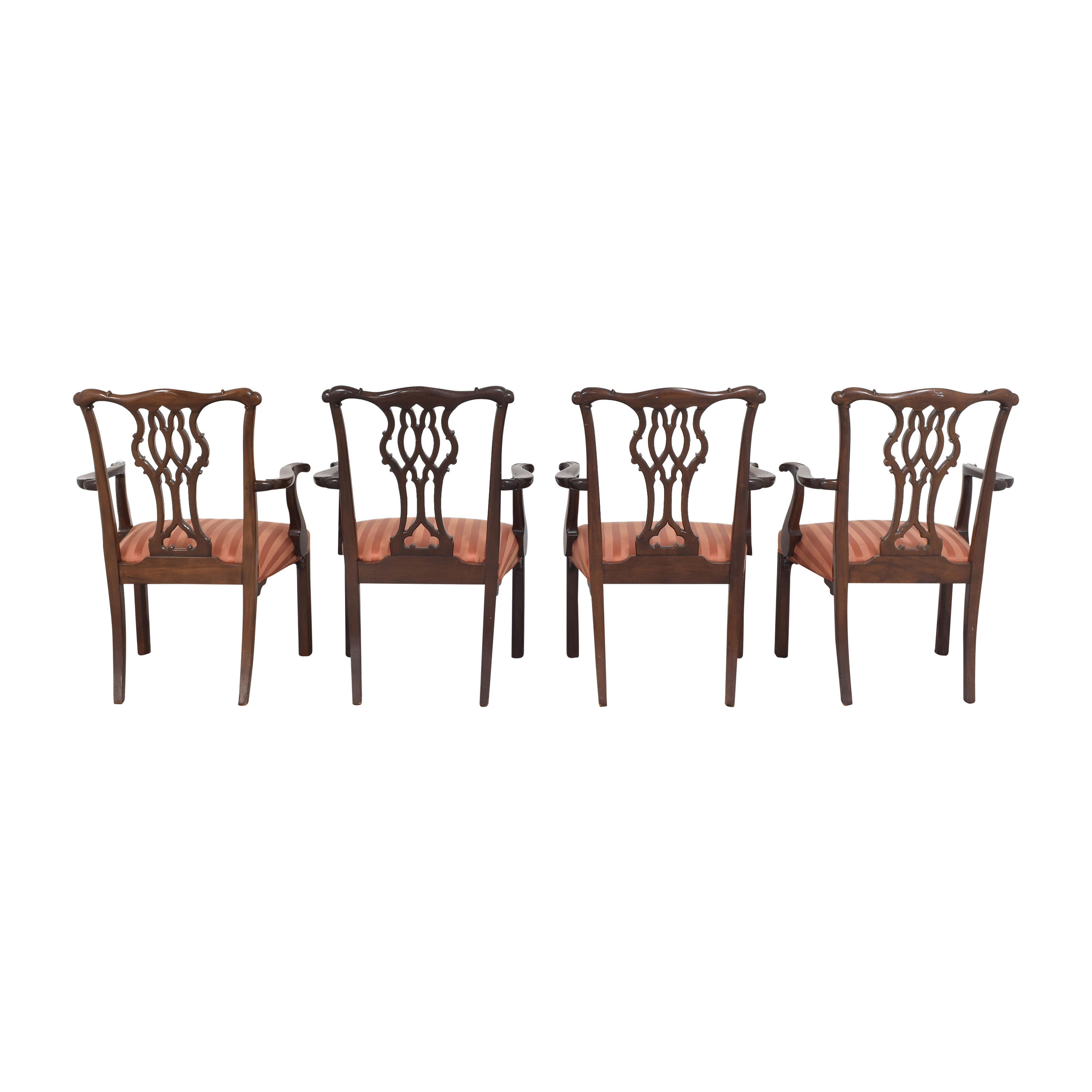 Baker Furniture Baker Furniture Chippendale Dining Chairs