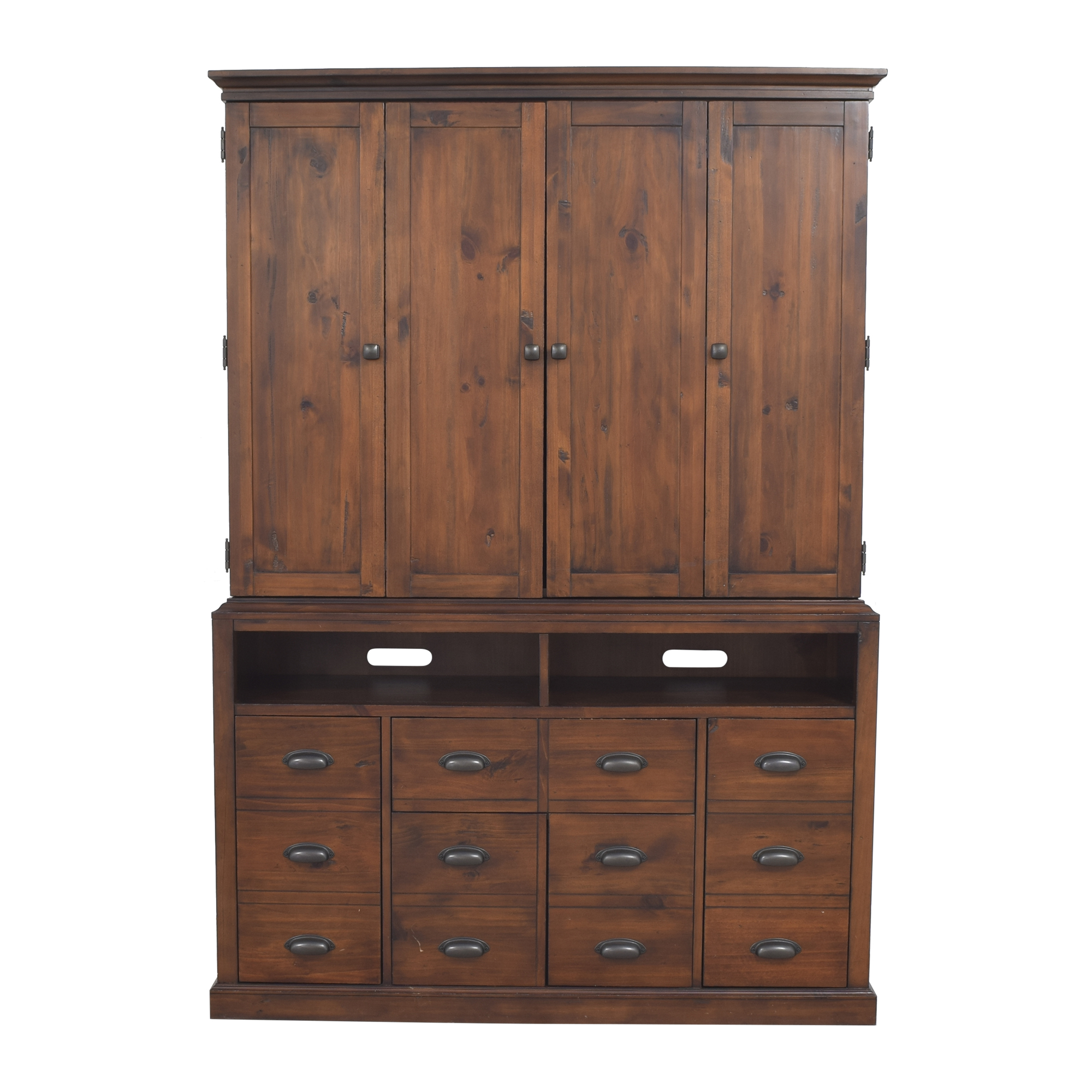 Media Console with Hutch nyc