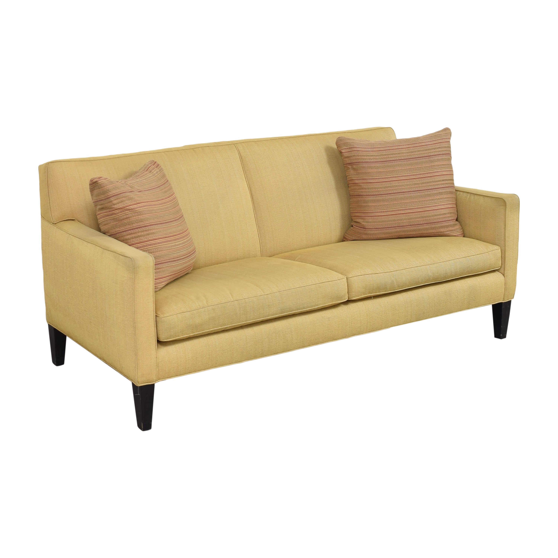 Crate & Barrel Crate & Barrel Two Cushion Sofa on sale