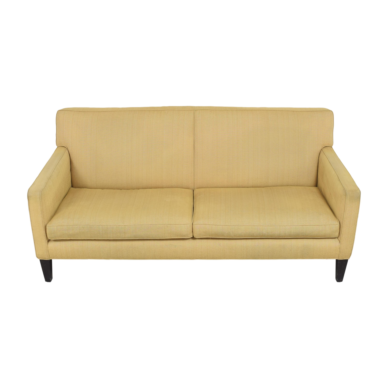 Crate & Barrel Two Cushion Sofa sale