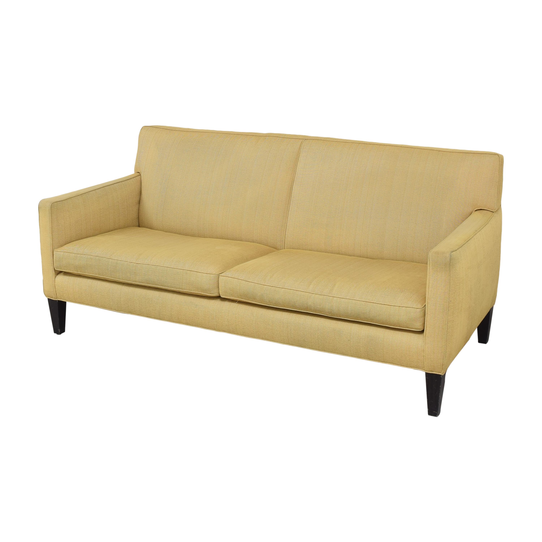 shop Crate & Barrel Two Cushion Sofa Crate & Barrel Classic Sofas