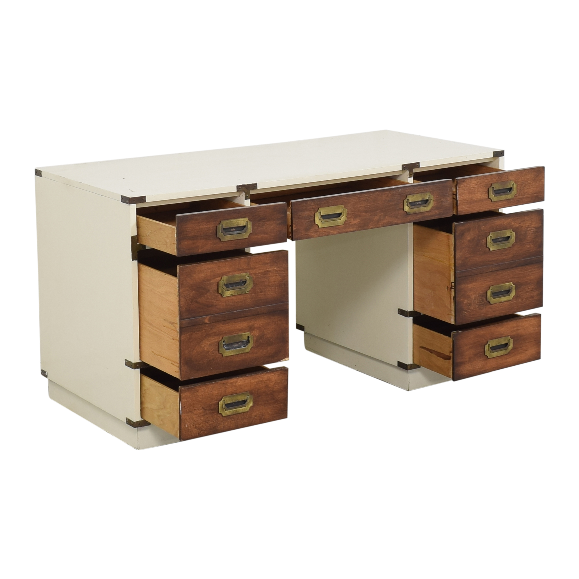 Campaign-Style Executive Desk nyc