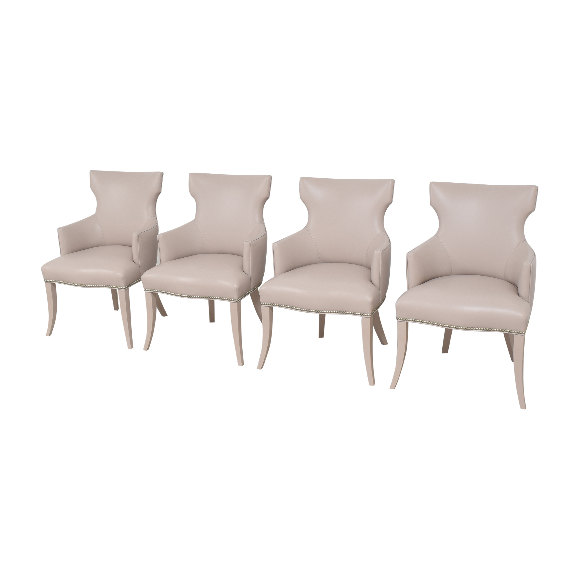 Artistic Frame Artistic Frame Custom Wing Back Dining Chairs coupon