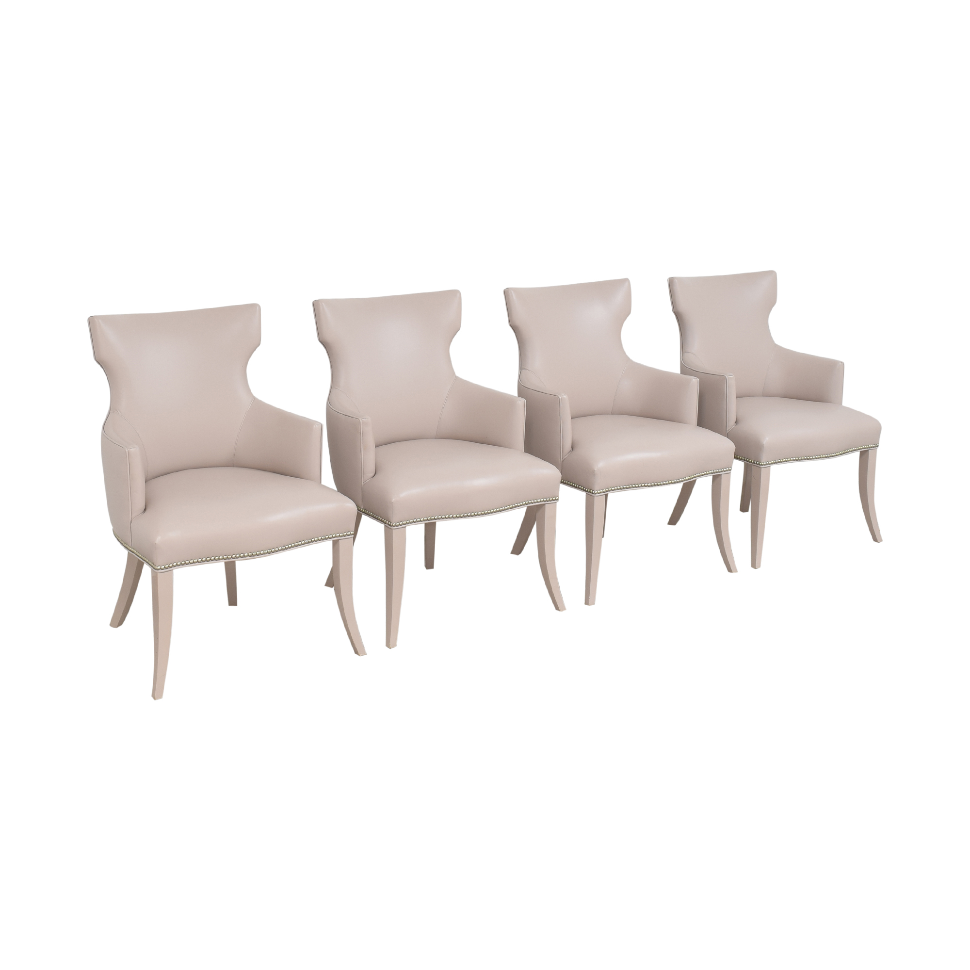 shop Artistic Frame Custom Wing Back Dining Chairs Artistic Frame Chairs