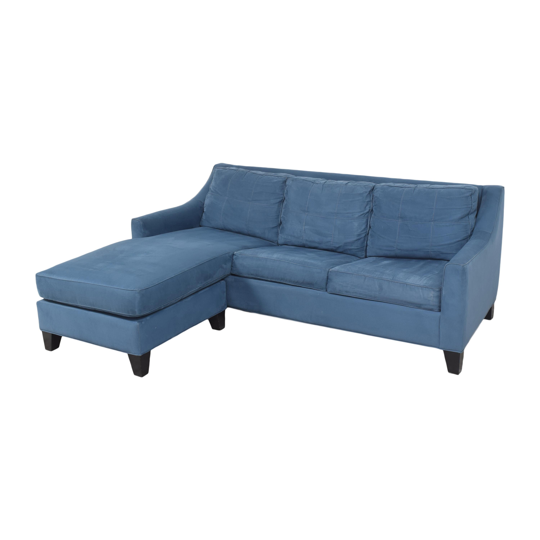Raymour & Flanigan Crosby Chaise Sleeper Sofa / Sofas