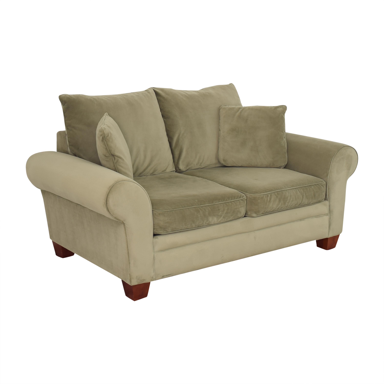 KFI KFI Two Cushion Sofa dimensions