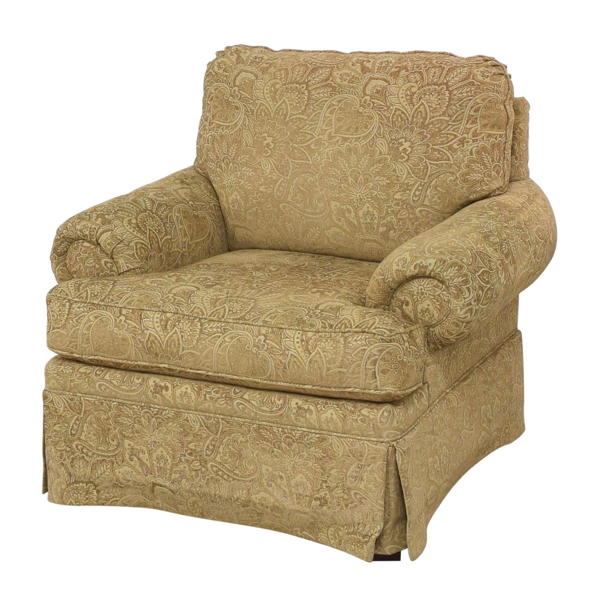 Clayton Marcus Clayton Marcus Lauren Roll Arm Chair dimensions