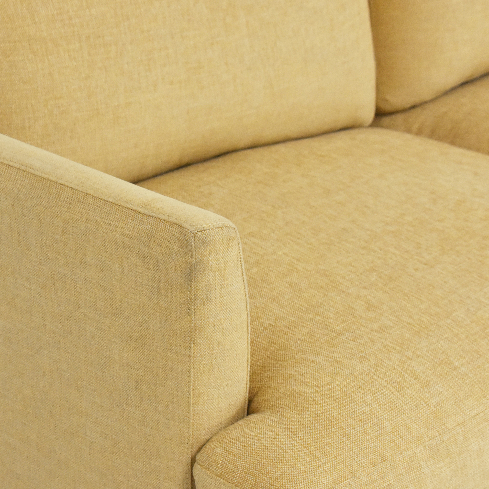 BenchMade Modern Crowd Pleaser Sofa with Chaise BenchMade Modern