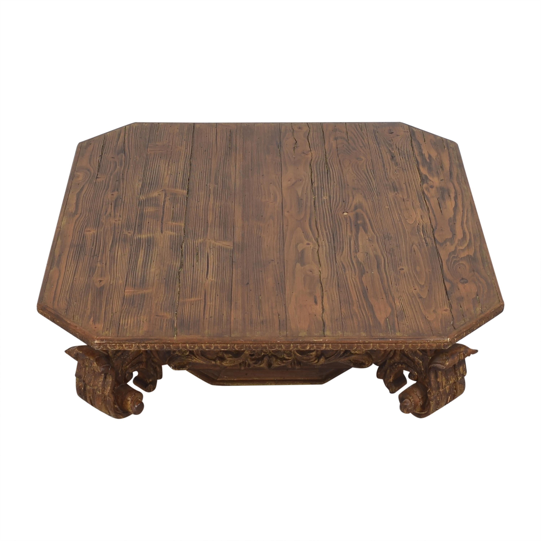 Restoration Hardware Restoration Hardware Baroque Capital Coffee Table Coffee Tables