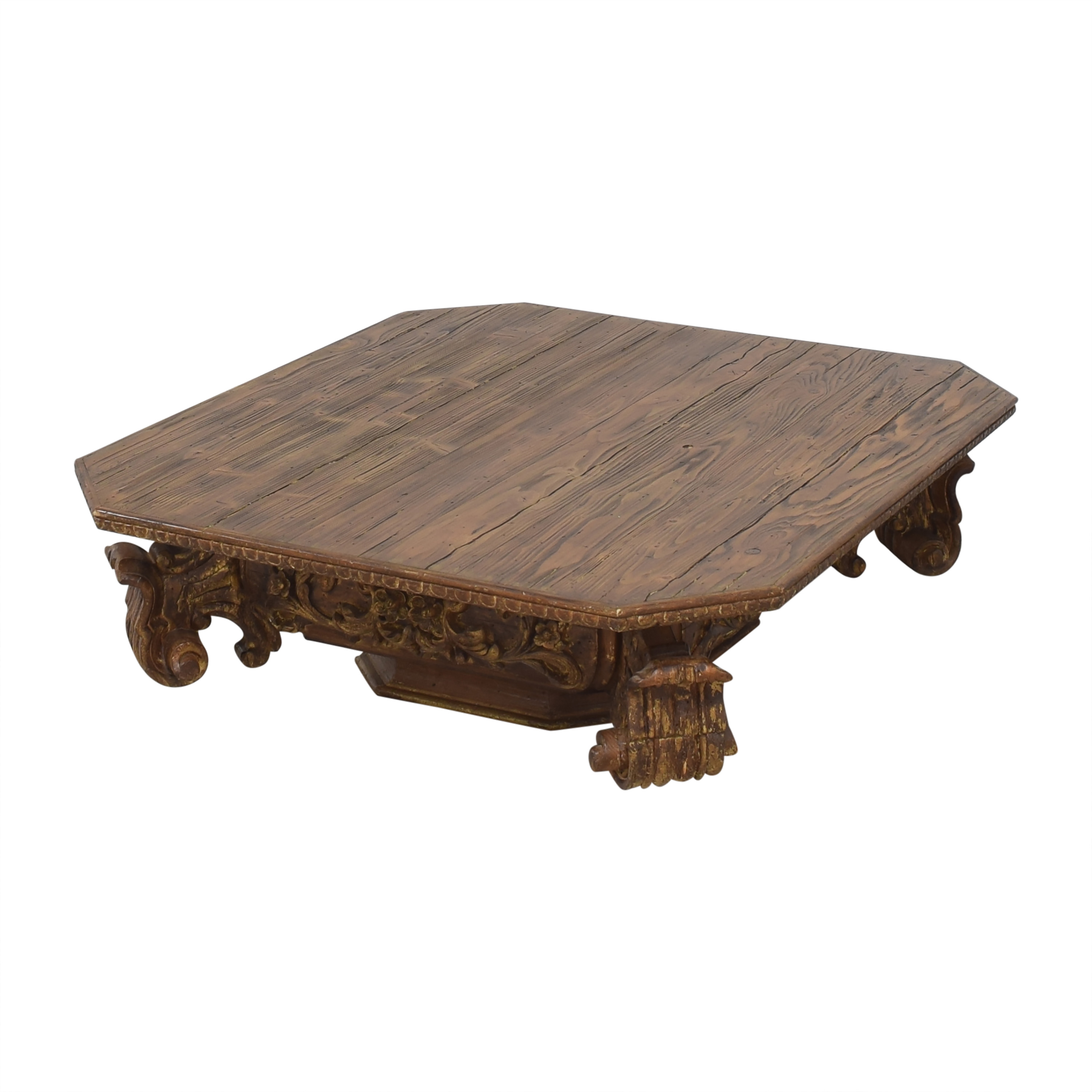 Restoration Hardware Baroque Capital Coffee Table / Tables