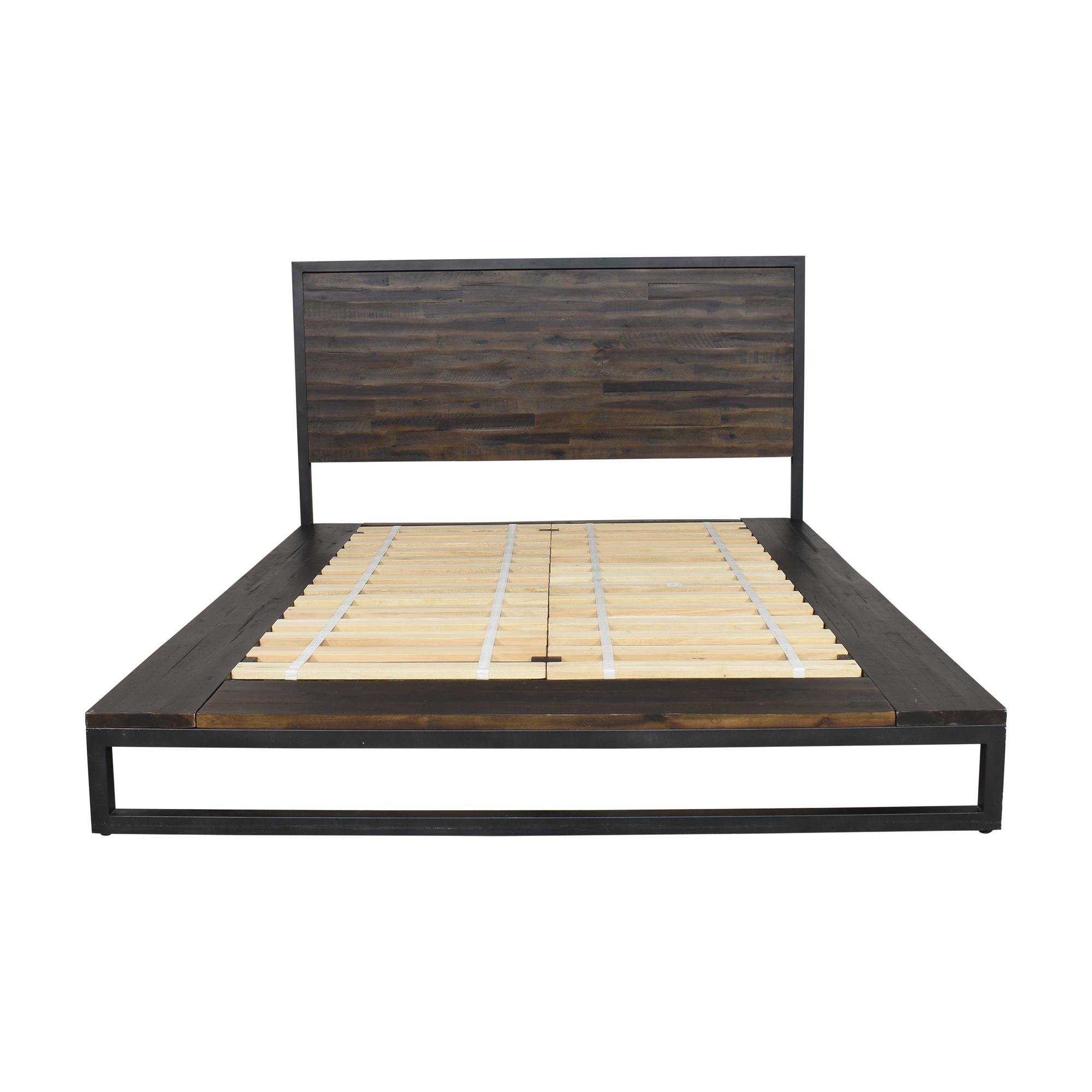 West Elm West Elm Logan Industrial Queen Bed Beds