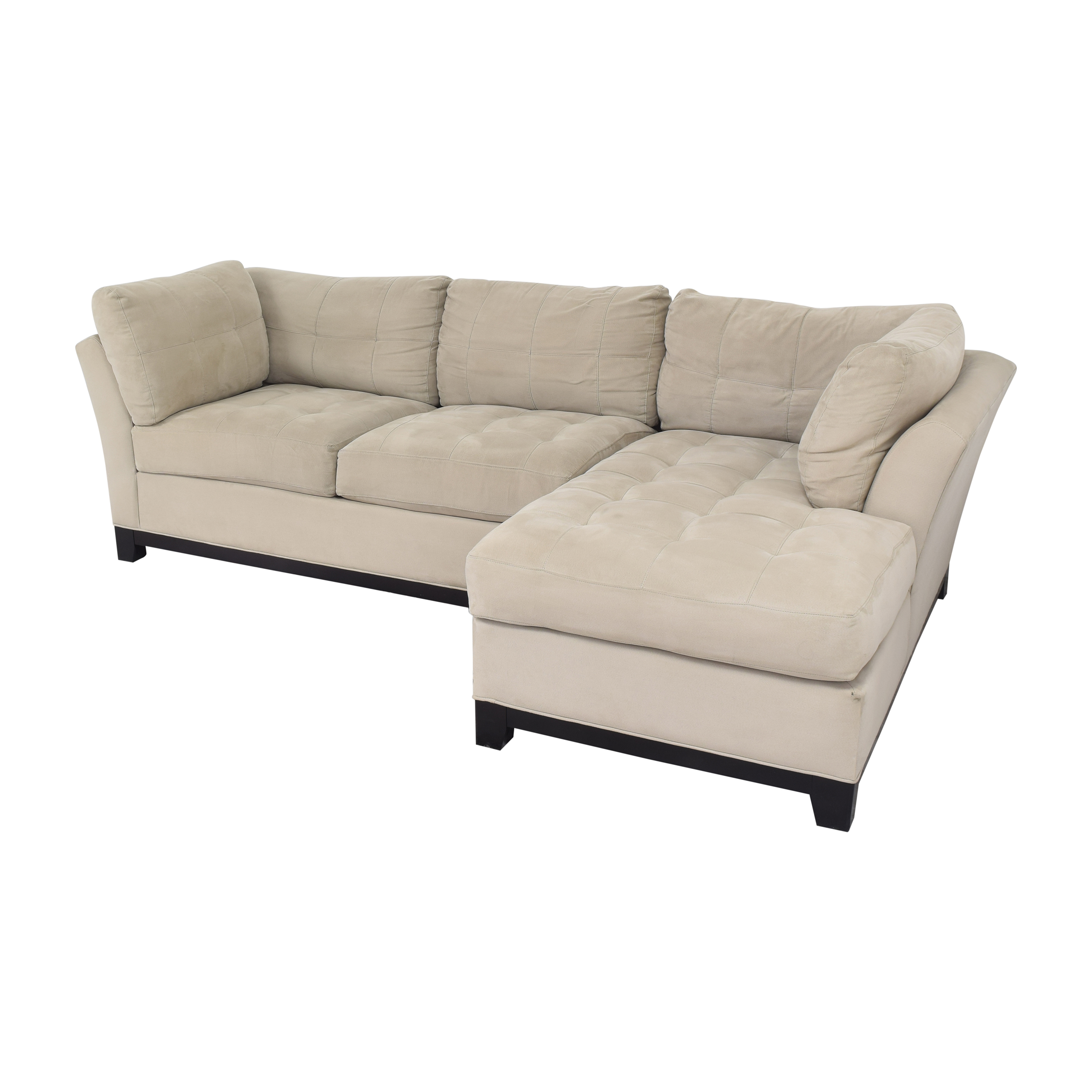 Cindy Crawford Home Cindy Crawford Home Metropolis Sectional Sofa second hand