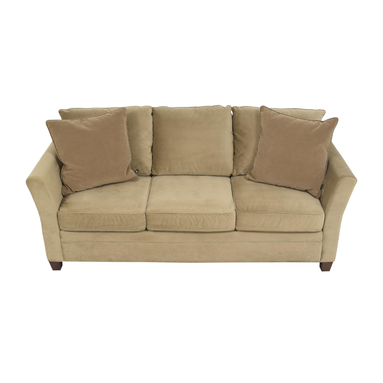 shop KFI Three Cushion Sofa KFI Classic Sofas