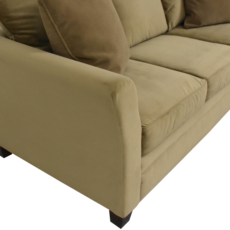 KFI Three Cushion Sofa KFI