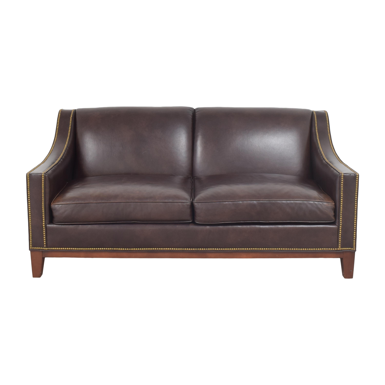 buy Nailhead Trim Slope Arm Sofa  Classic Sofas