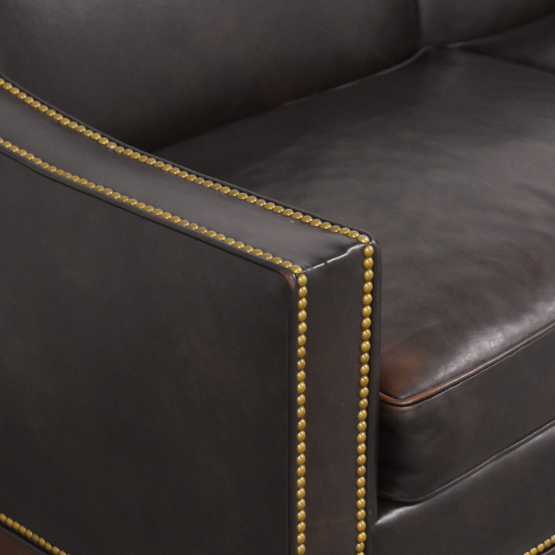 Nailhead Trim Slope Arm Sofa coupon