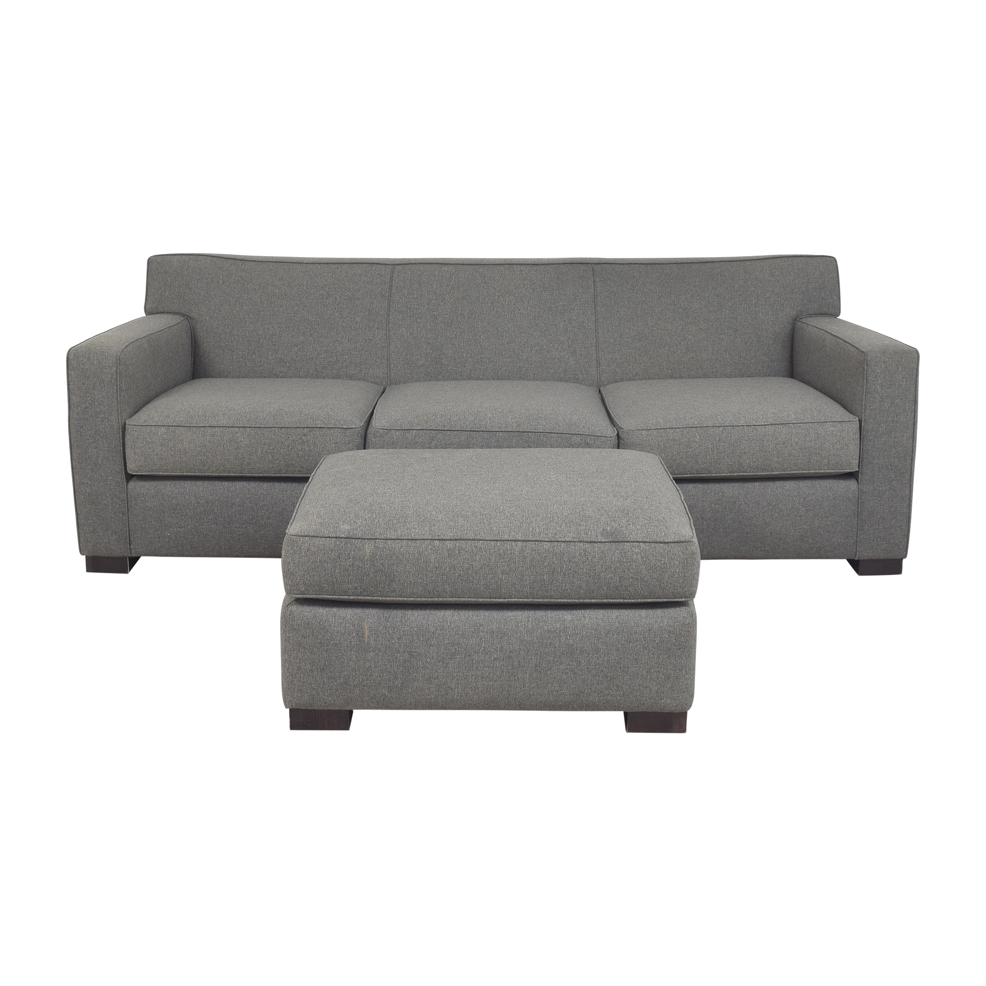 Room & Board Room & Board Dean Sofa with Ottoman Classic Sofas