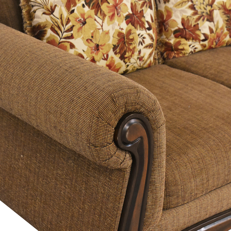 Hughes Furniture Roll Arm Sofa Hughes Furniture
