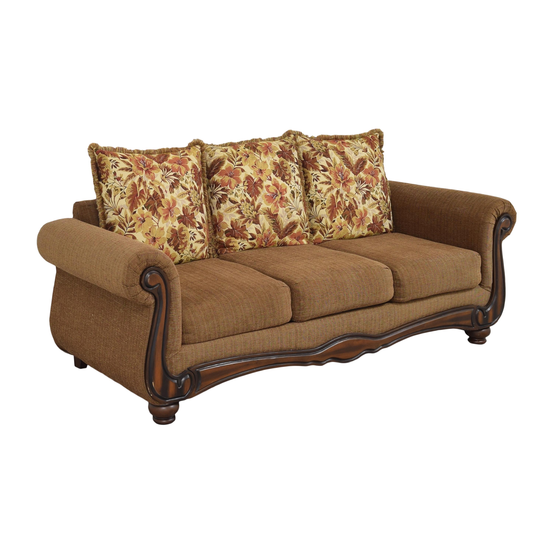 Hughes Furniture Roll Arm Sofa / Classic Sofas