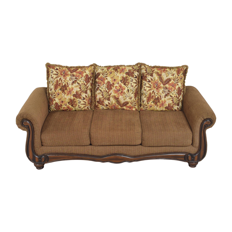 Hughes Furniture Hughes Furniture Roll Arm Sofa discount