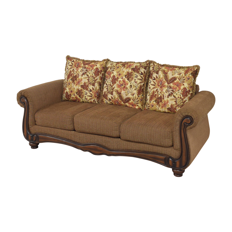 Hughes Furniture Hughes Furniture Roll Arm Sofa second hand