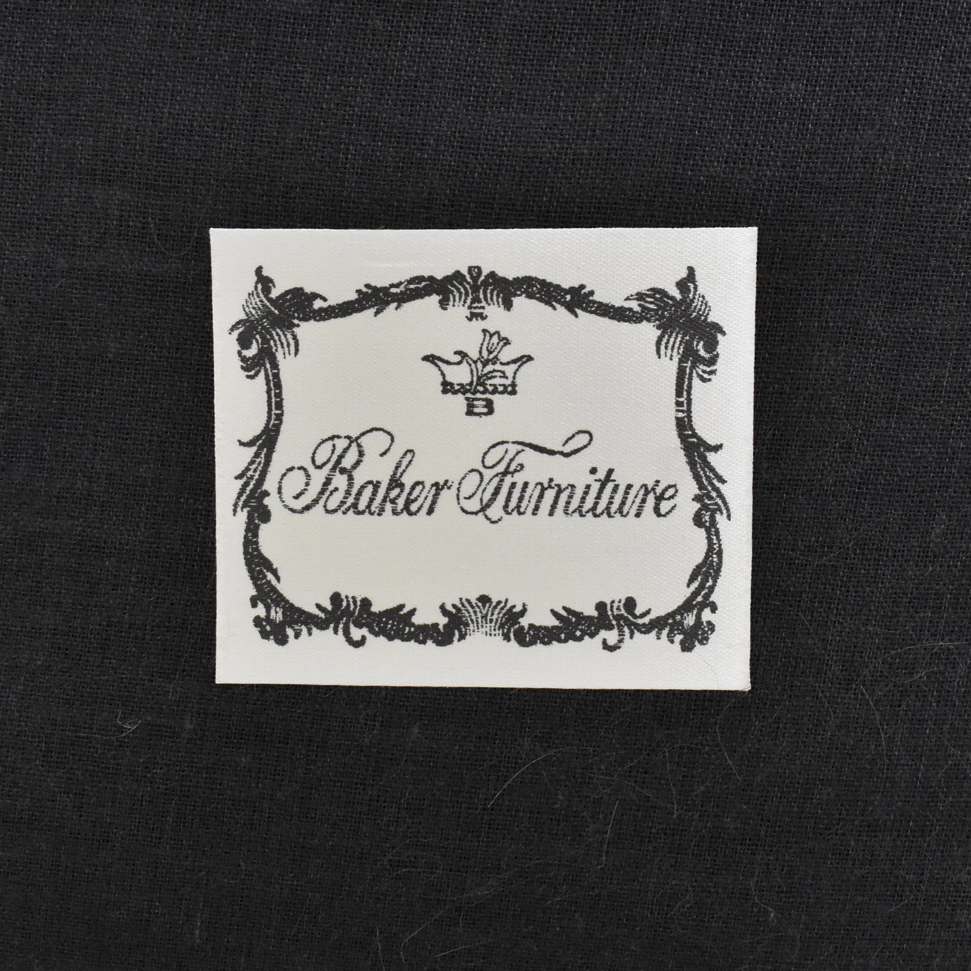 shop Barbara Barry for Baker Furniture Oval X Back Armchair Baker Furniture