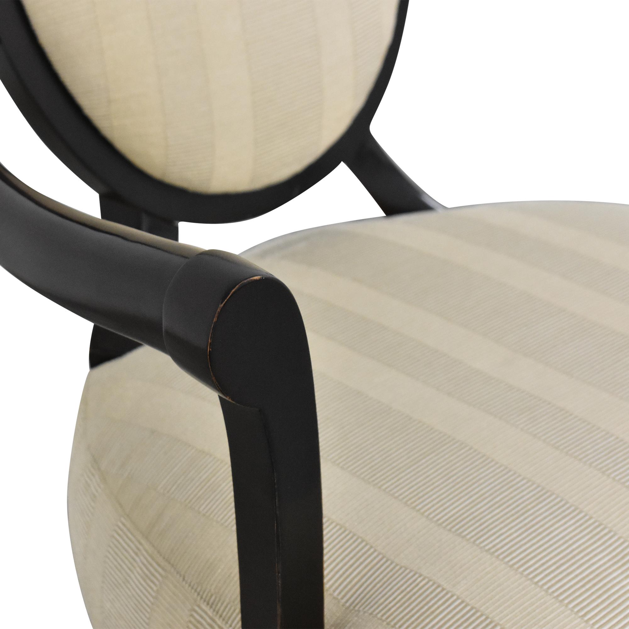 Baker Furniture Barbara Barry for Baker Furniture Oval X Back Armchair price