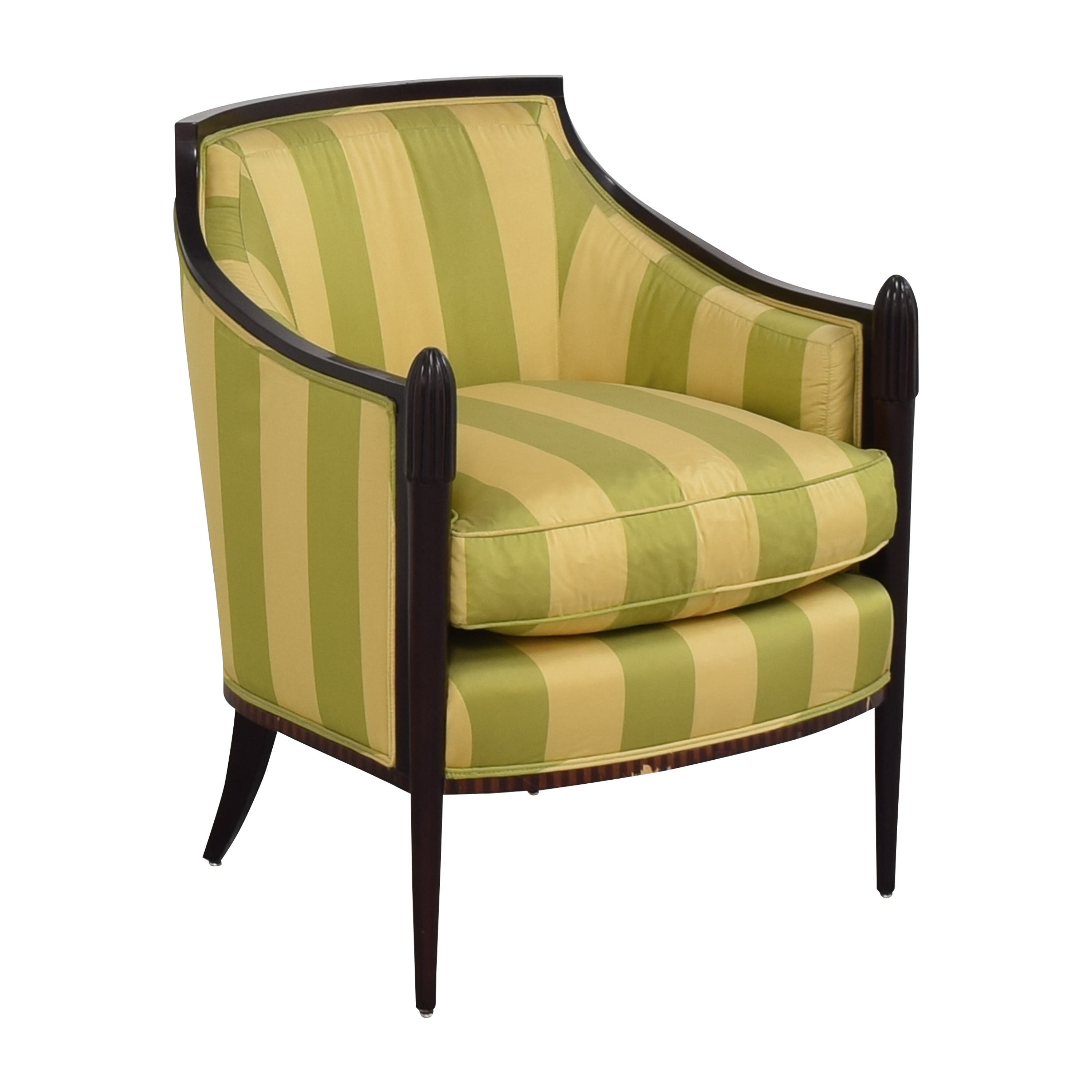 buy Barbara Barry for Baker Furniture Deco Classic Lounge Chair Baker Furniture