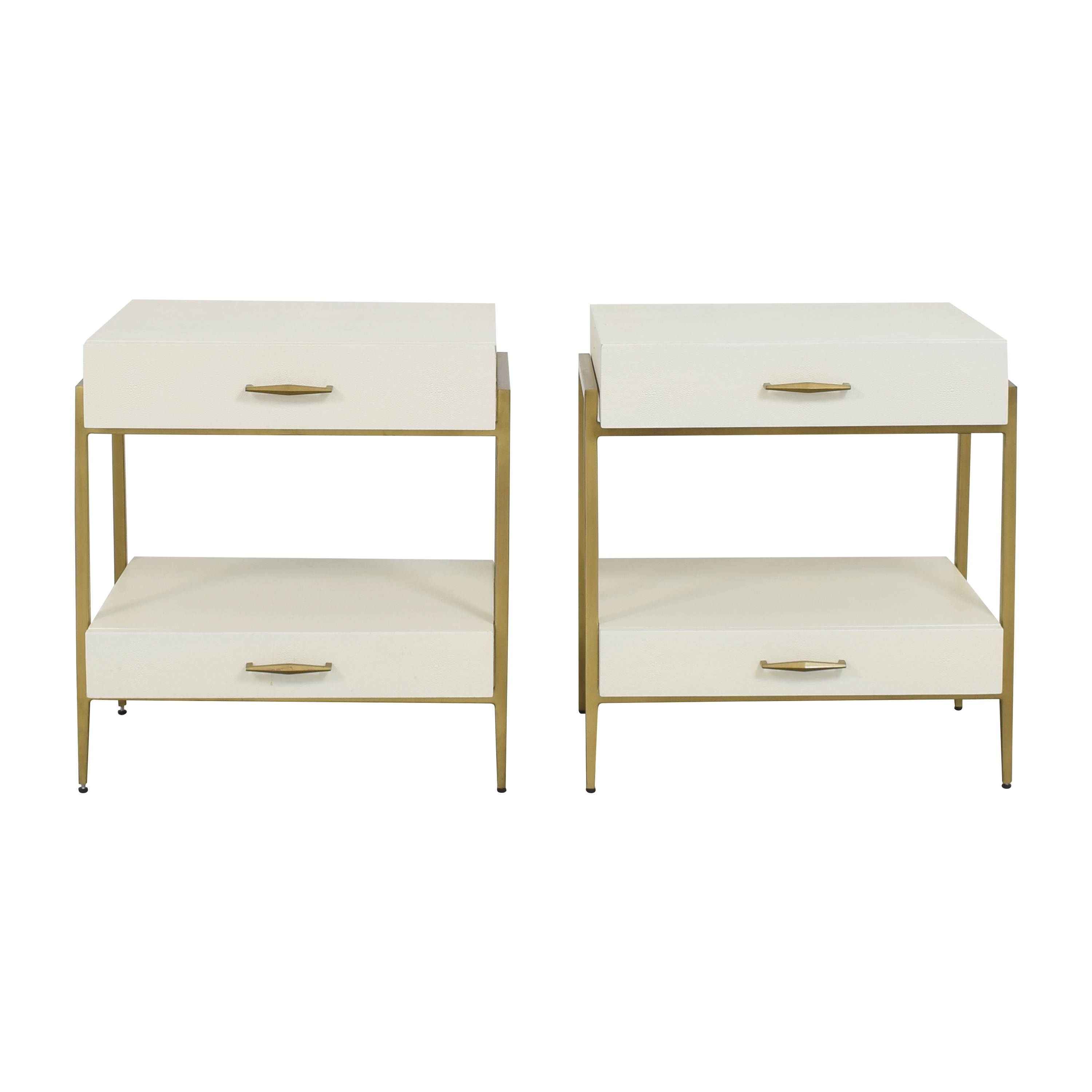 buy Interlude Home Allegra Nightstands Interlude Home End Tables
