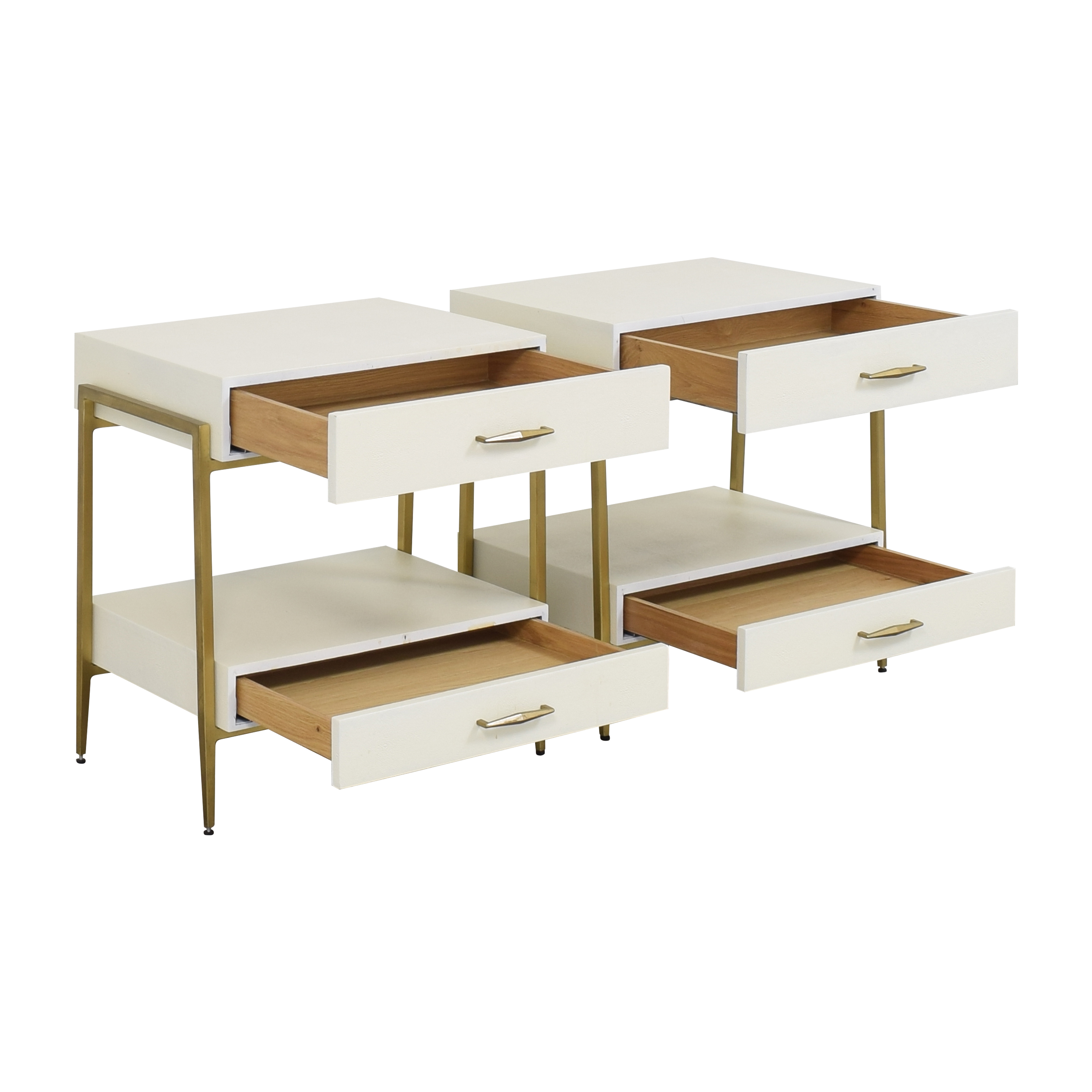 Interlude Home Allegra Nightstands / End Tables