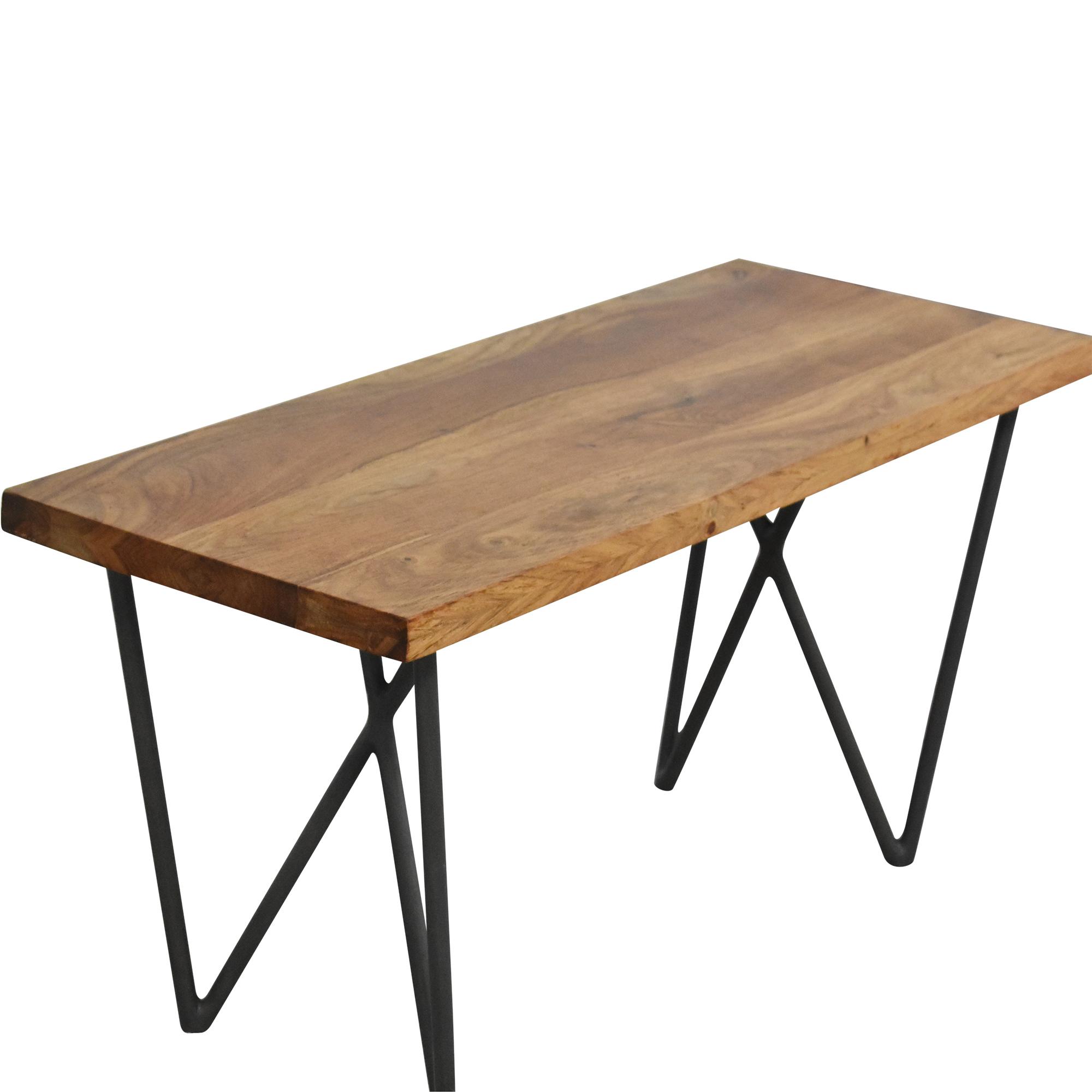 CB2 Dylan Medium Bench / Chairs