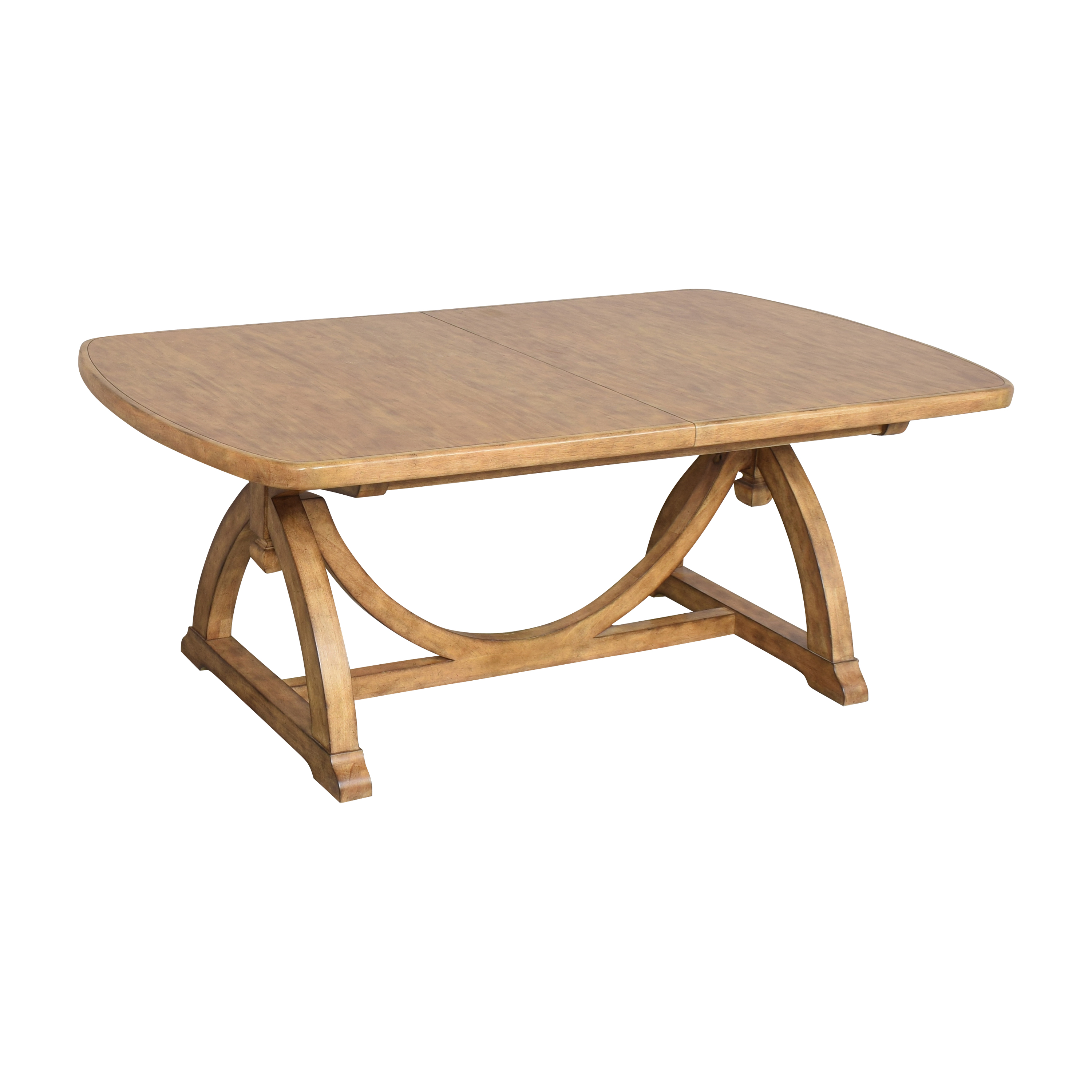 Thomasville Thomasville Reinventions Pacific Trestle Dining Table coupon