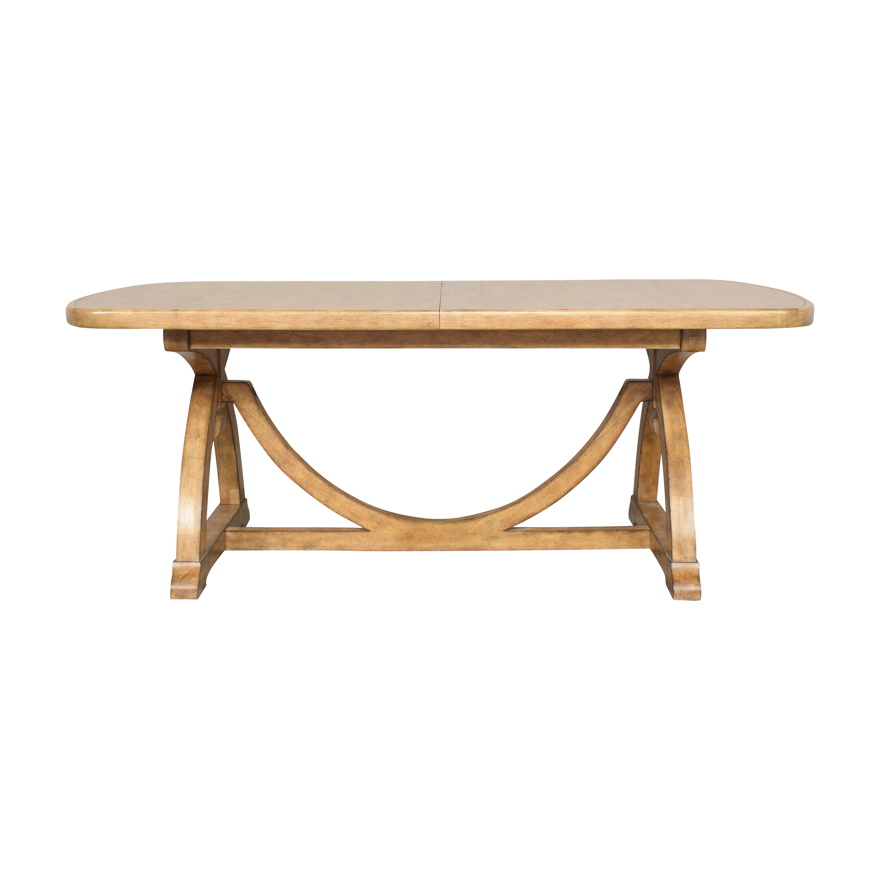 Thomasville Thomasville Reinventions Pacific Trestle Dining Table pa
