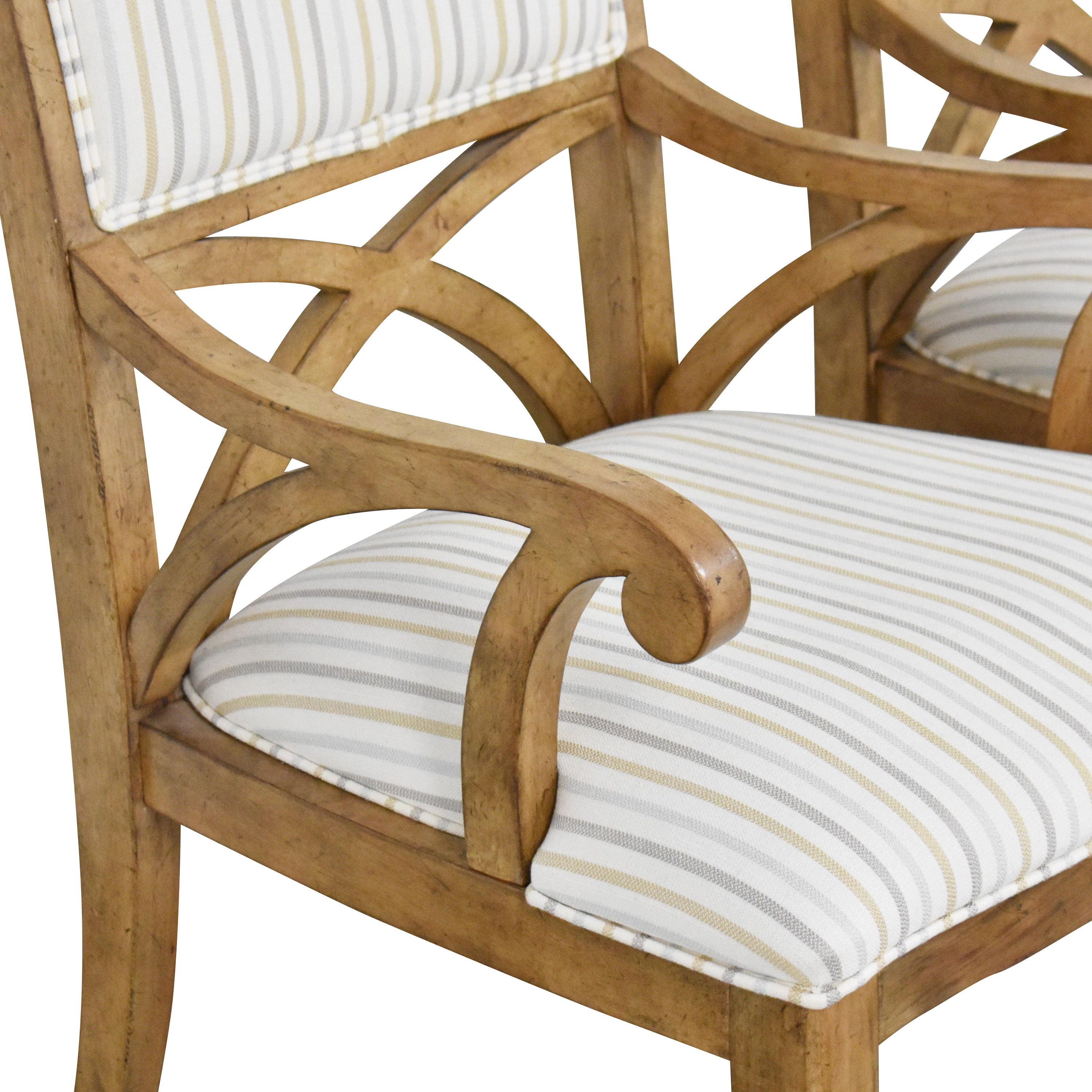 Thomasville Thomasville Upholstered Dining Chairs dimensions