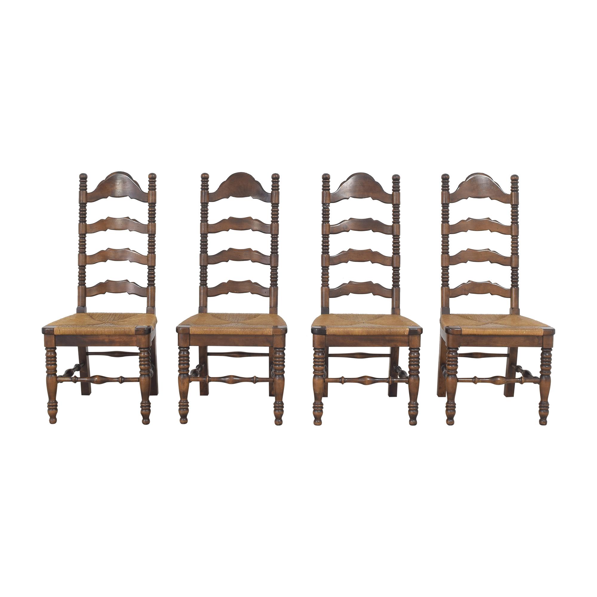 buy Bennington Pine Ladderback Dining Side Chairs Bennington Pine Dining Chairs