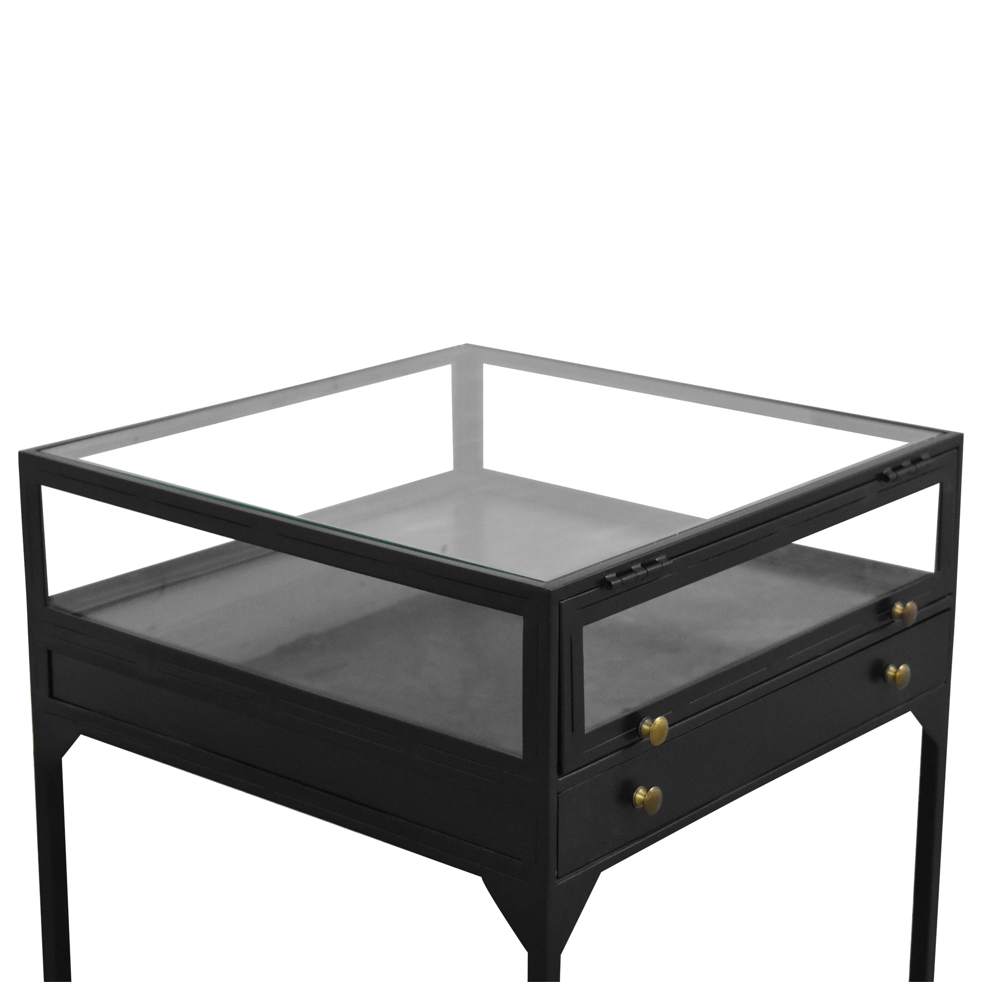 shop Four Hands Shadow Box End Table Four Hands End Tables