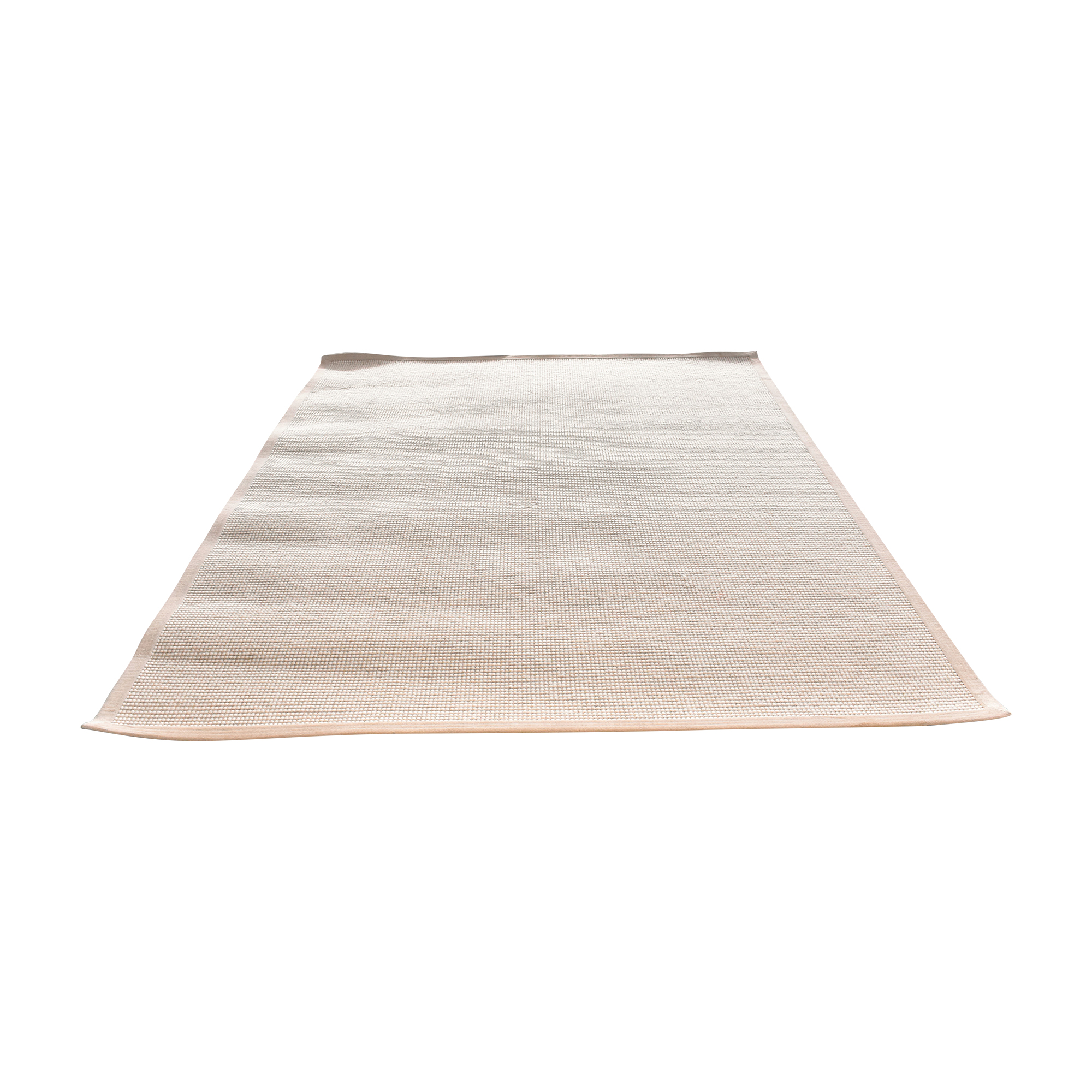 buy Restoration Hardware Restoration Hardware Beige and White Area Rug online