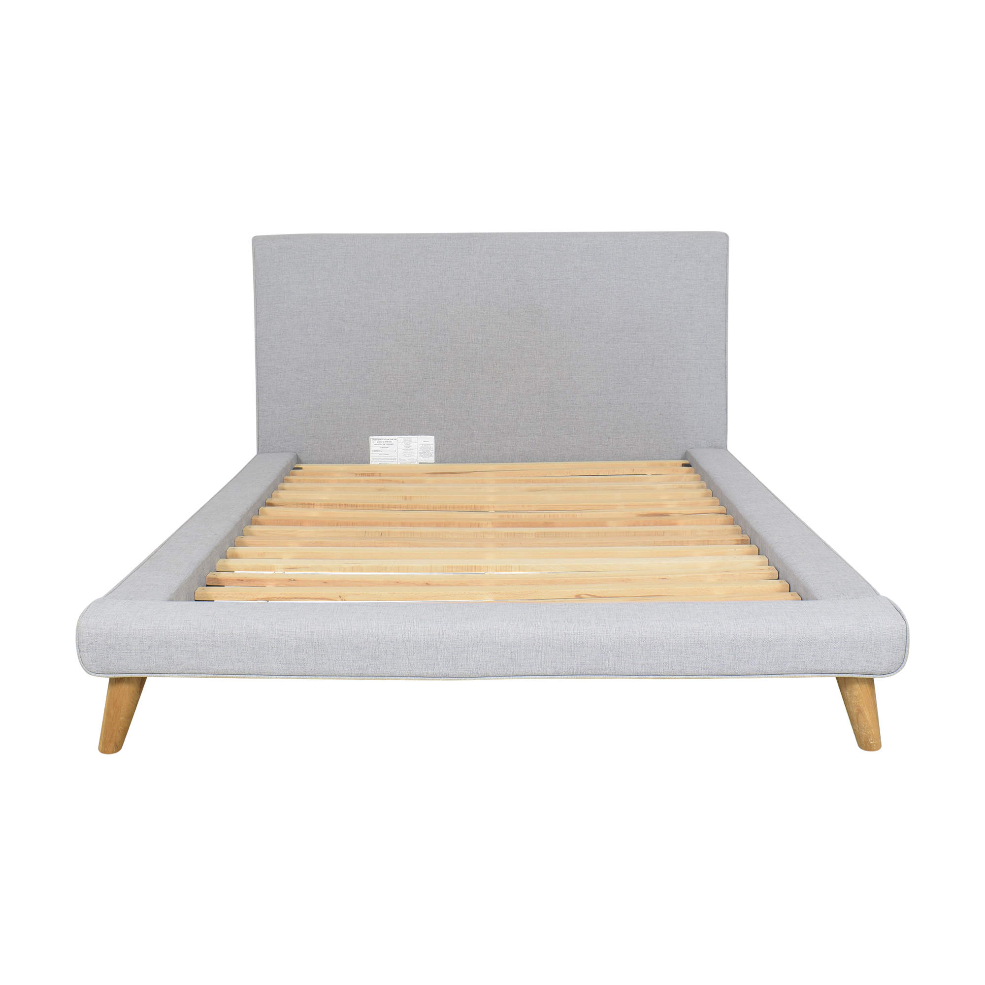 West Elm West Elm Mod Upholstered Full Platform Bed ma