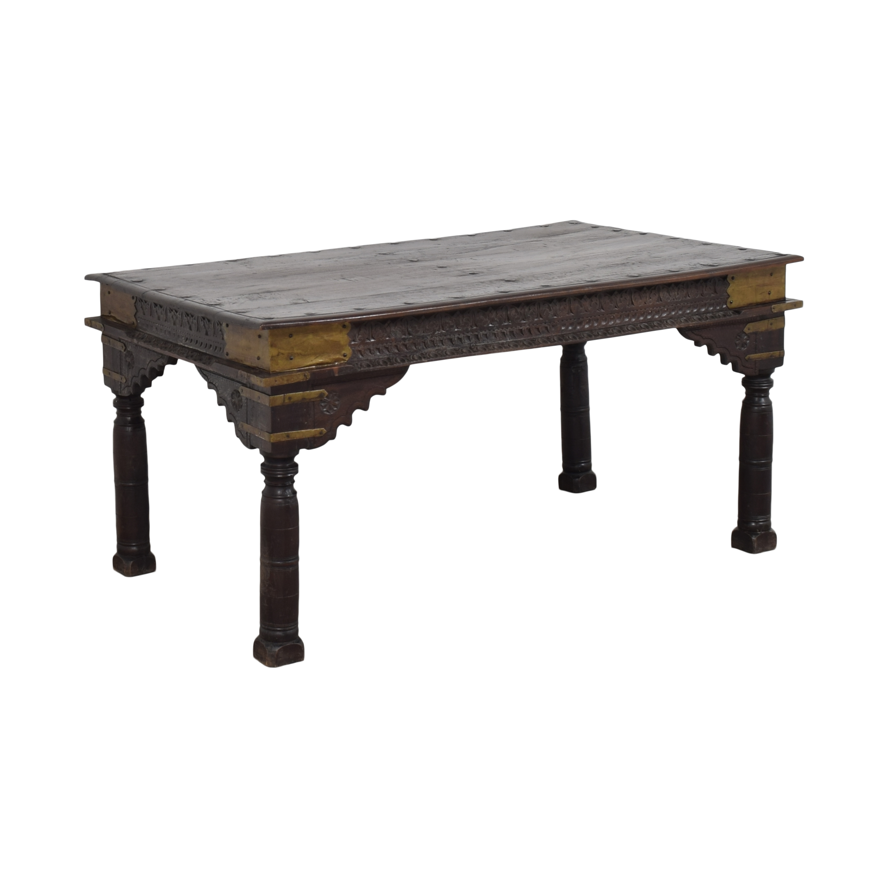 Antique Carved Dining Table coupon