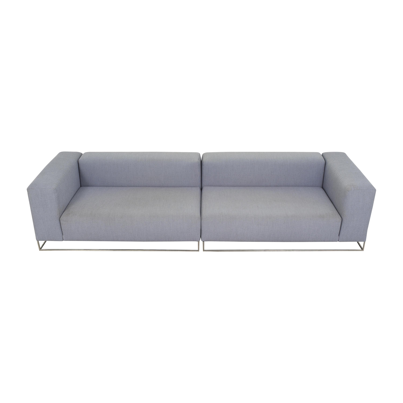 Living Divani Living Divani Ile Club Sectional Sofa Sofas