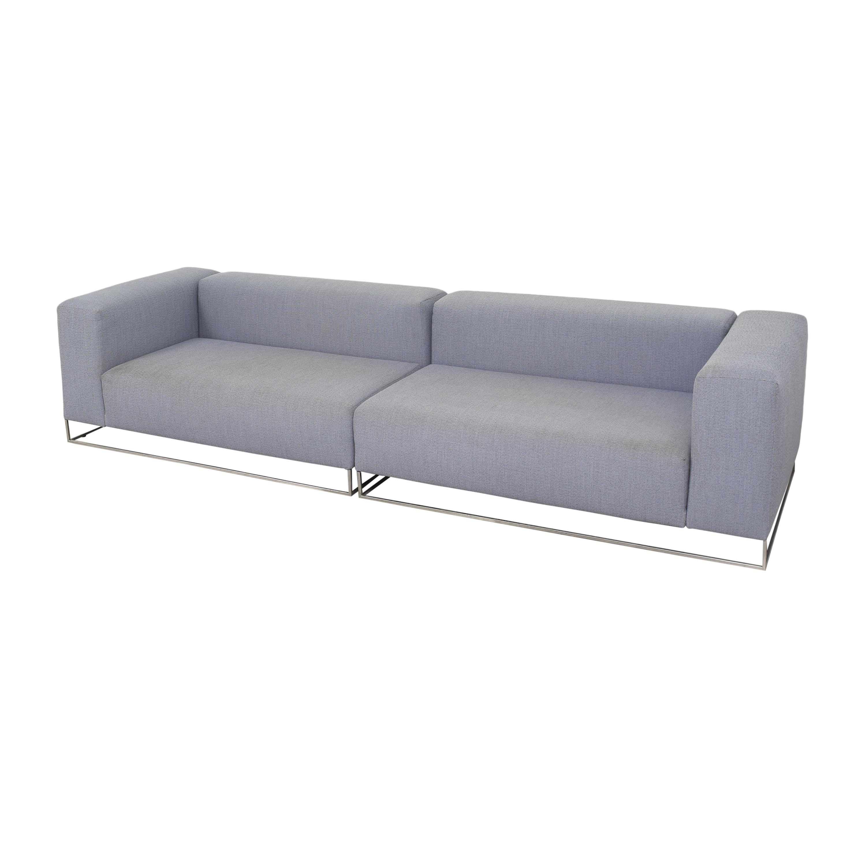 Living Divani Living Divani Ile Club Sectional Sofa for sale