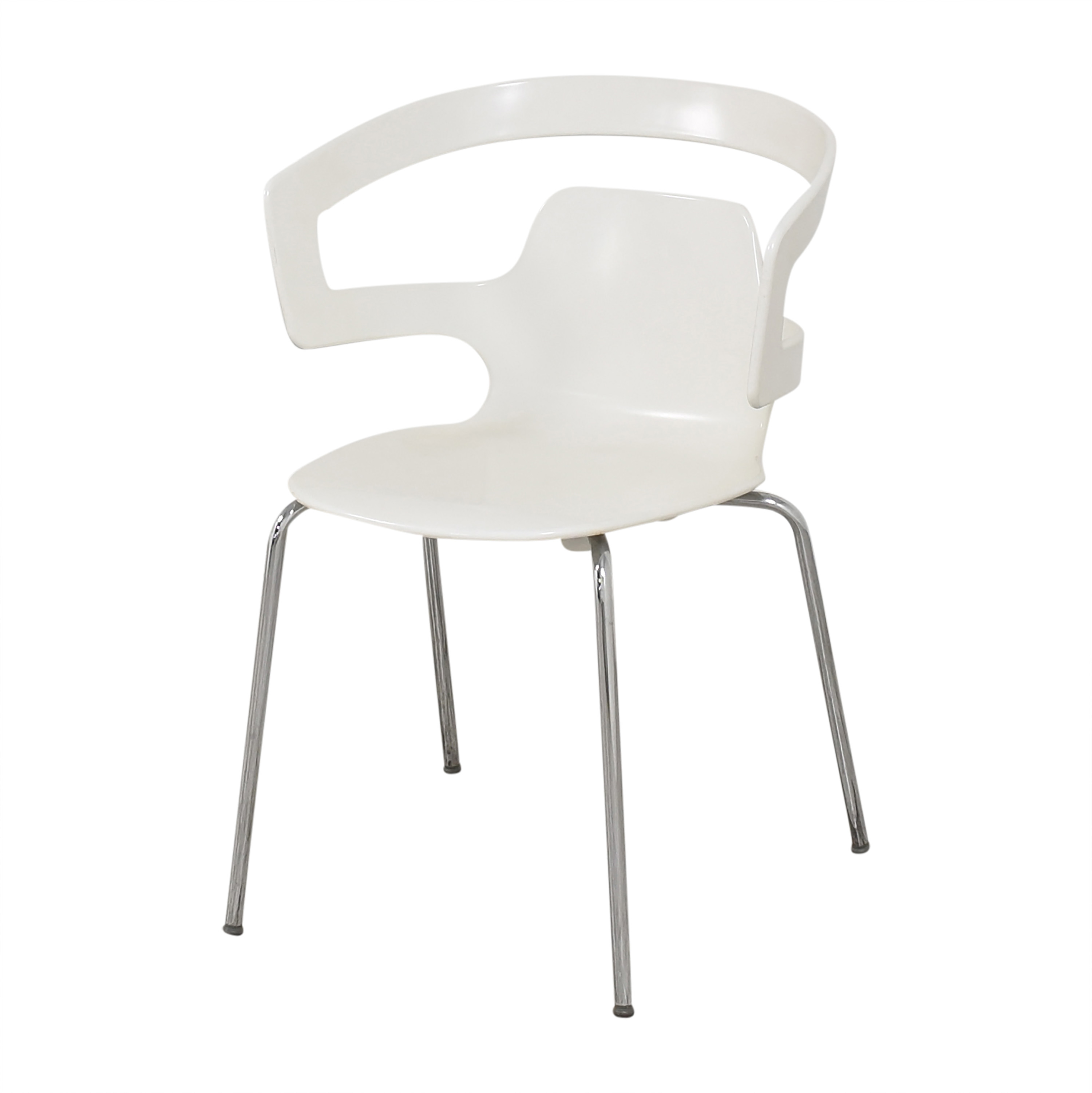 Cappellini Cappellini Aero Dining Chairs white and silver