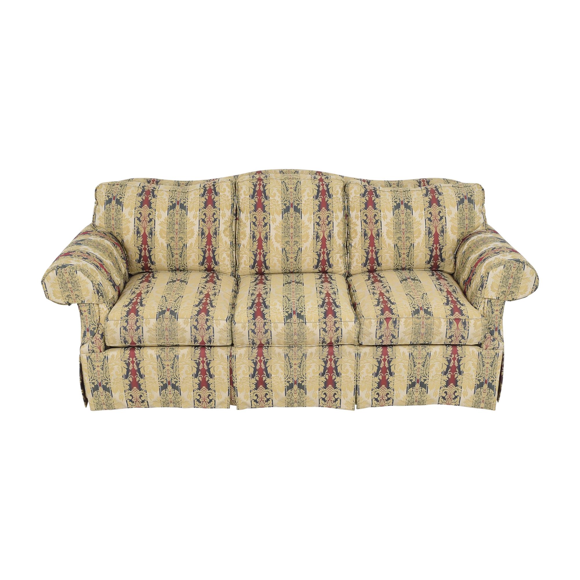 Ethan Allen Ethan Allen Stripe Damask Sofa