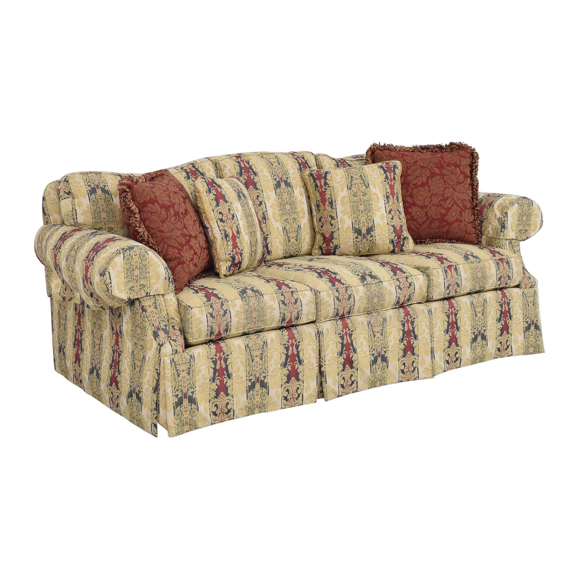 buy Ethan Allen Stripe Damask Sofa Ethan Allen Sofas